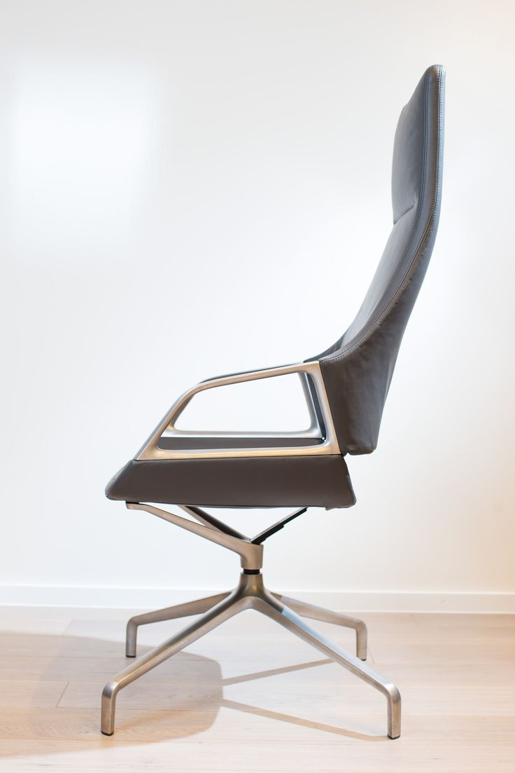 GRAPH conference chair with 5 star base | Design by jehs + laub | By Wilkhahn | #graph  | #london
