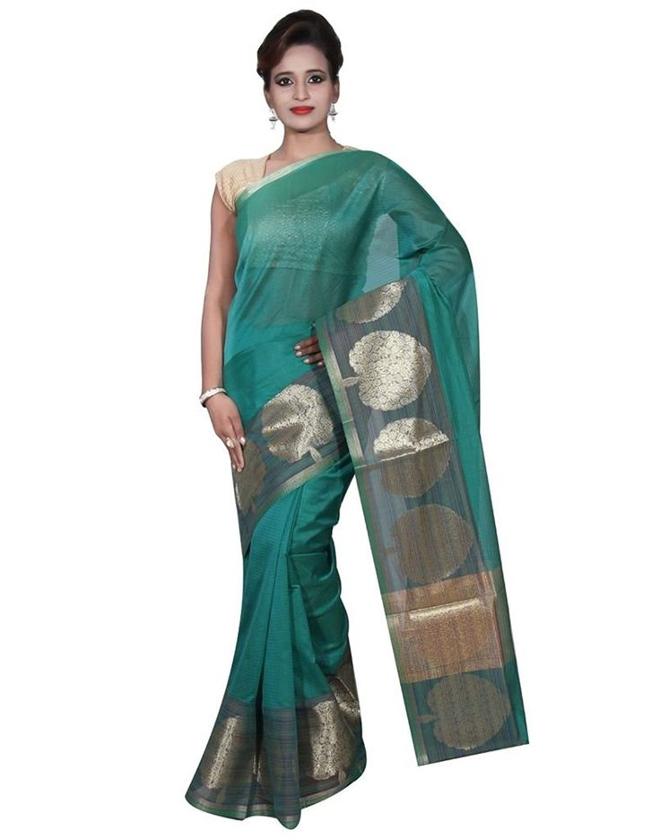 Banarasi #Silk Works #Party Wear Designer Green Colour #Cotton Saree For #Women'S  #Saree, #Sarees,# Banarasisarees, #Banarasisari, #handloomsarees, #indiancouture, #banarasi #fashion, #beauty, #indianfashion,#fashion, #trendy, #ethnic, #designer, #traditional, traditionalwear Whatsapp or call on 7860780786 and 7903451221 to order