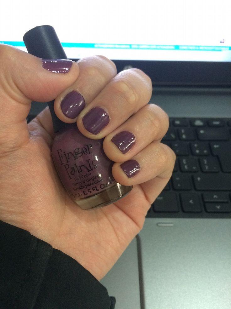 Finger Paints - Purple Pinstripes