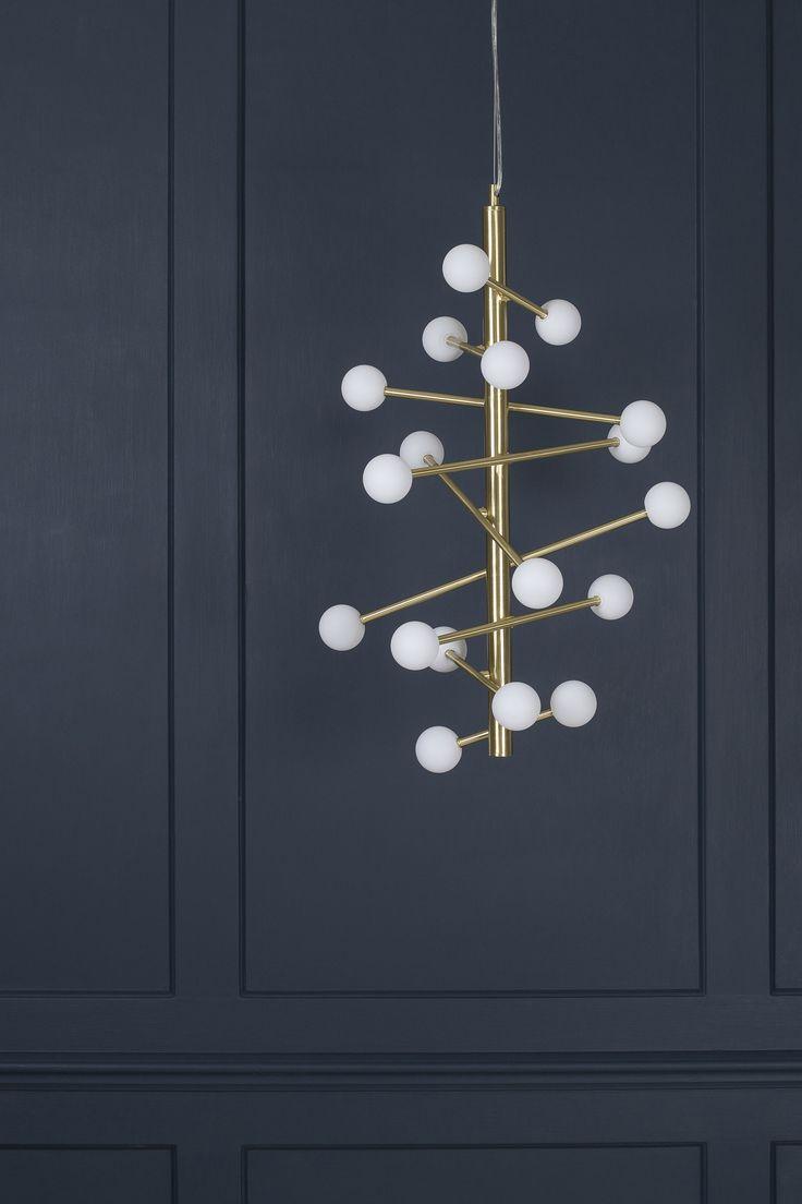 Hol Pendant Light, Brass   BHS