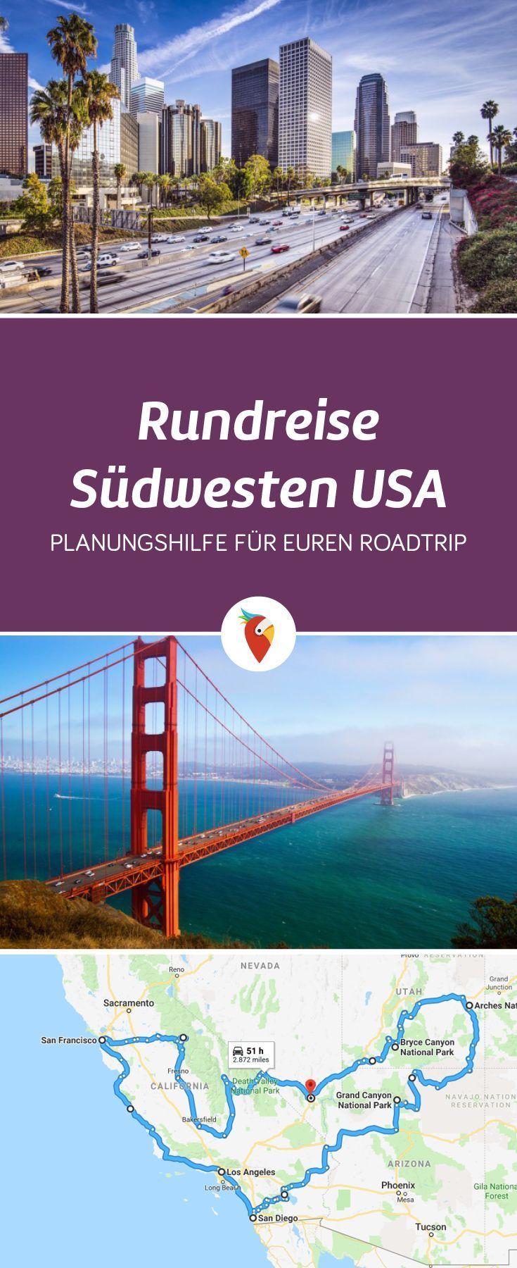 Round Trip West Coast – Le classique road trip à travers le sud-ouest des États-Unis