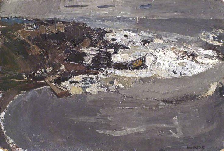 Winter Sea IV by Joan Kathleen Harding Eardley Aberdeen Art Gallery & Museums Date painted: 1958 Oil on board, 53.4 x 78.8 cm Collection: Aberdeen Art Gallery & Museums