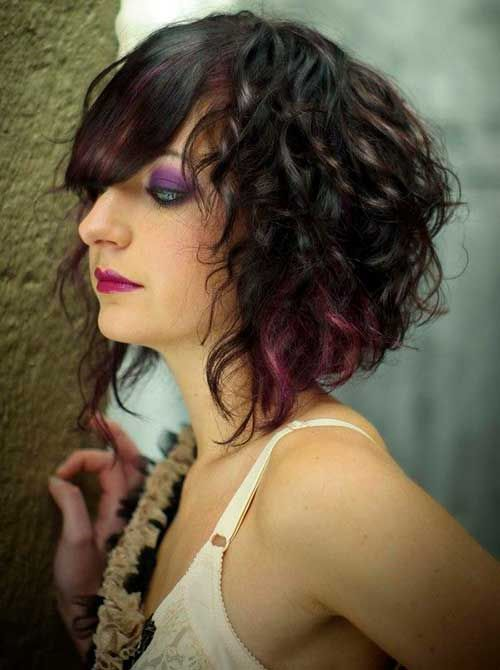 curly to hair styles best 25 curly asymmetrical bob ideas on curly 3739
