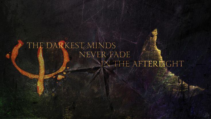 The Darkest Minds Never Fade In The Afterlight -- downloadable desktop wallpaper inspired by Alexandra Bracken's The Darkest Minds trilogy