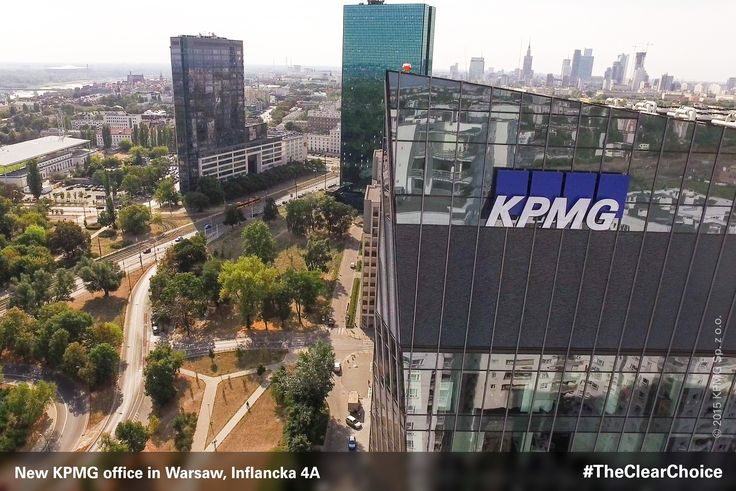The Warsaw office of KPMG Poland has moved to a new location at Gdanski Business Center on ul. Inflancka 4A - right next to Dworzec Gdanski metro station. #KPMG #newoffice #inflancka #Warsaw #Poland #workspace #TheClearChoice