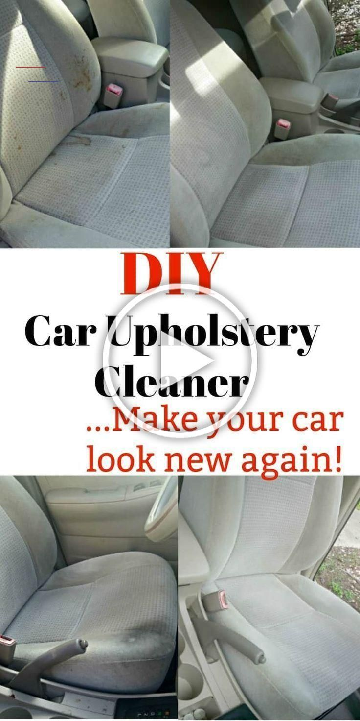 Diy Car Upholstery Cleaner Make Your Interior Look Brand New How To Clean Car Seats With Baking So In 2020 Diy Upholstery Cleaner Upholstery Cleaner Car Upholstery