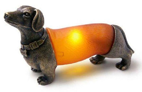 Wiener Dog Lamp haha