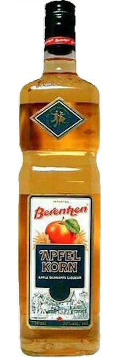 Apfelkorn - One of my favorite drinks while living Germany.  Jo