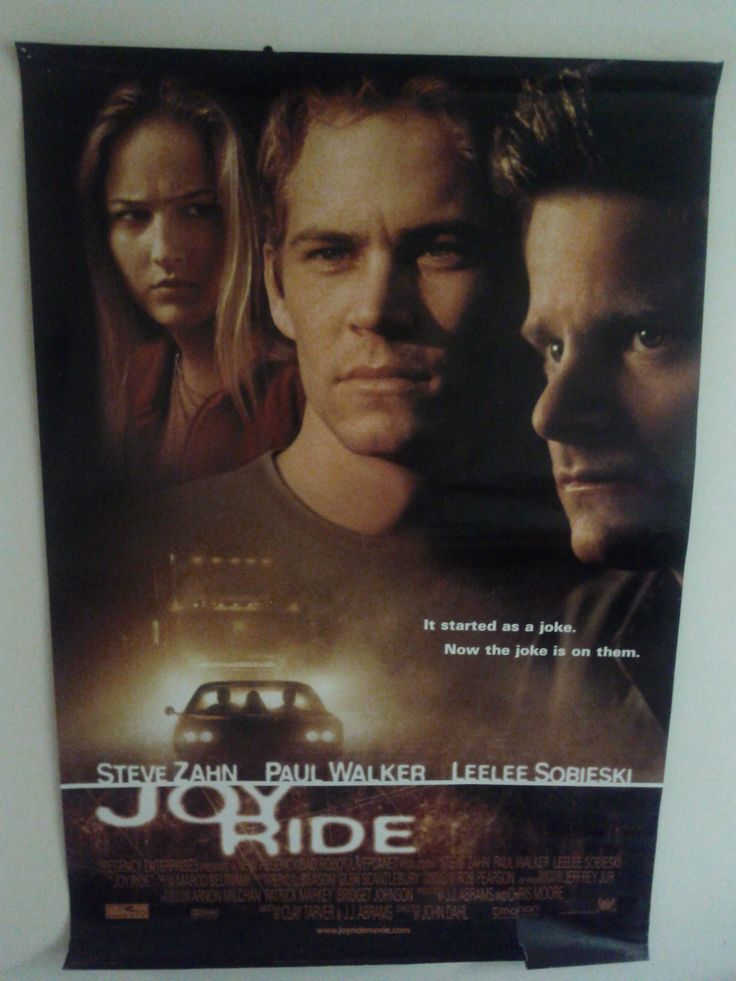 Joy Ride Poster $47.25 (Plus Shipping and Handling)