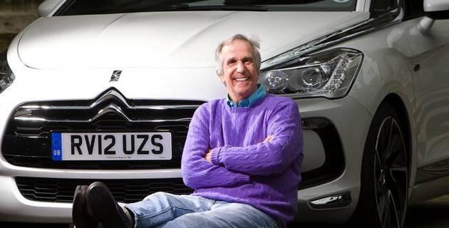 Henry Winkler (aka the Fonz) drives the Citroën DS5 | Sunday Times Driving