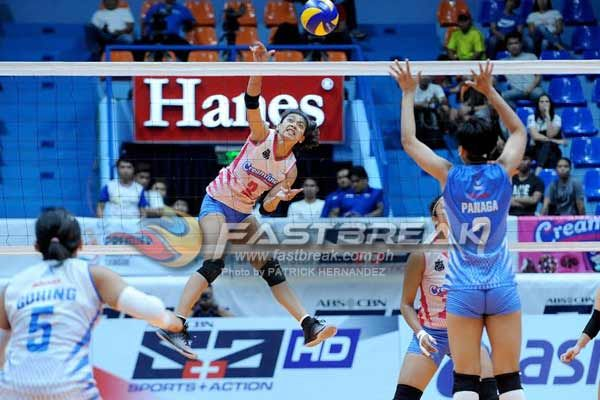 Creamline and Pocari Sweat shoots for at least a playoff for the third semifinals berth in a crucial match in the Premier Volleyball League Reinforced Conference at the Filoil Flying V Center in San Juan today.