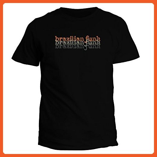 Idakoos Brazilian Funk repeat retro - Music - T-Shirt - Retro shirts (*Partner-Link)