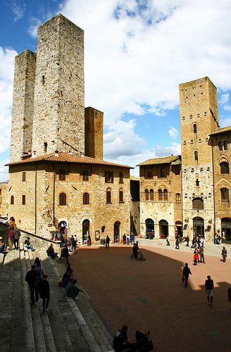 San Gimignano | Piazza del Duomo | Fabio Di Giuseppe | Flickr