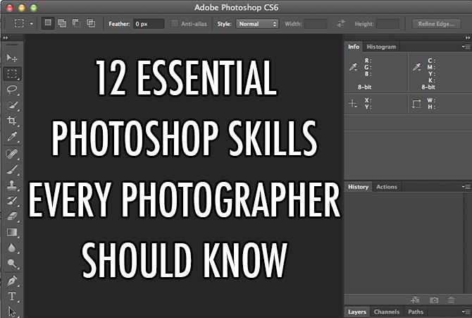 12 Essential Photoshop Skills Every Photographer Should Know (With Video) - DIY Photography