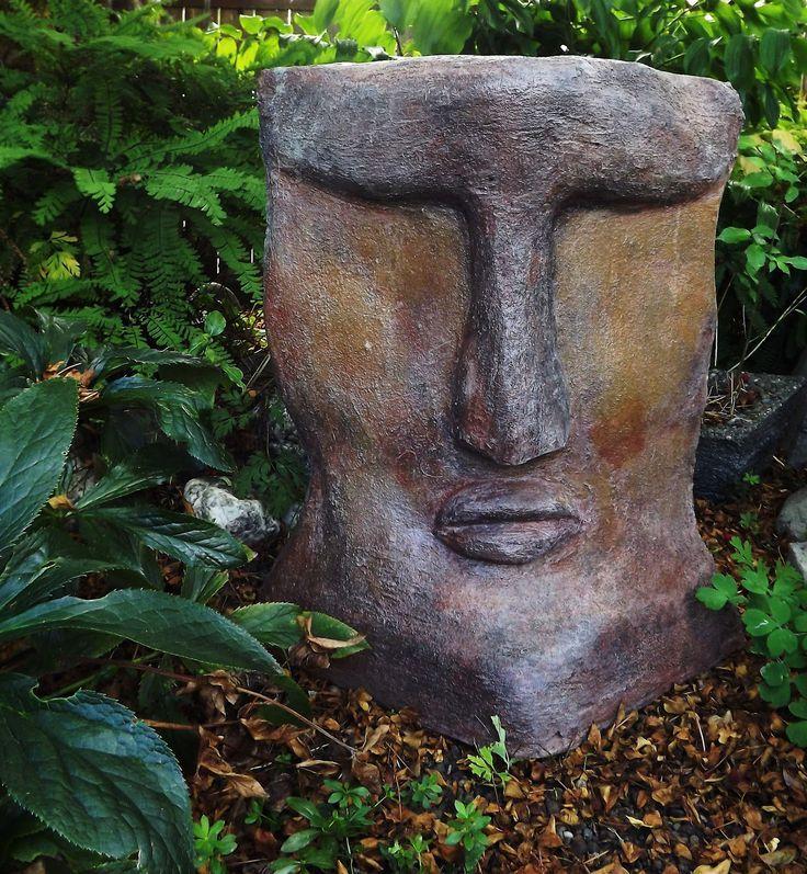 Hypertufa Cement Face