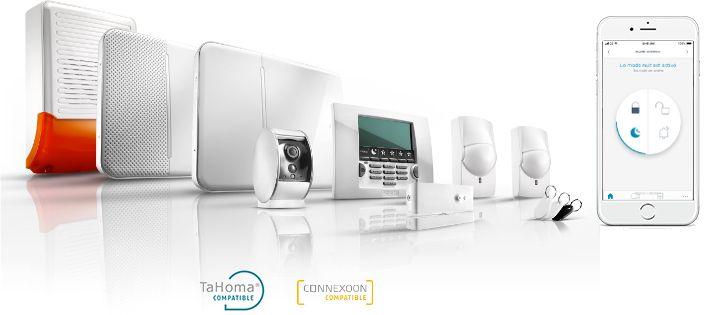 Pack Alarm Home Keeper Somfy Systeme Alarme Detecteur De