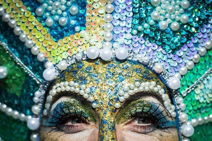 Week of Feb 14-20, 2015 A carnival goer takes part in the Rosenmontag parade in Düsseldorf, Germany, on Monday. MAJA HITIJ/EUROPEAN PRESSPHOTO AGENCY