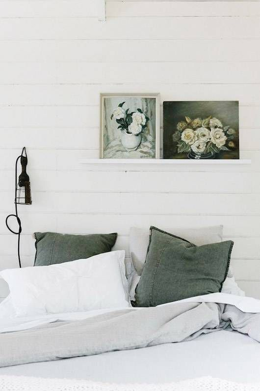 10 Ways We re Embracing This Color Trend  Green BedroomsSage  Top 25  best Gray green bedrooms ideas on Pinterest   Gray green  . Grey And Green Bedroom. Home Design Ideas