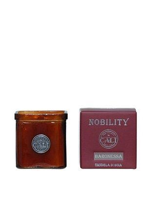 50% OFF Cali Cosmetics 9-Oz. Baronessa Candle in Glass Vessel, Red
