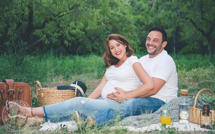 Fotografía Premama | Fotografía Embarazo | Embarazados | Fotografía futuros papas | Sesión en exteriores | Sesión familia | Picnic | Atardecer