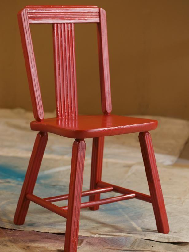 43 best Maison images on Pinterest Painted furniture, Chair swing - meuble en bois repeint