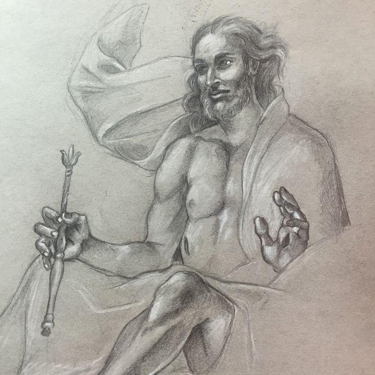 Leonard Greco (2016) Christ enthroned
