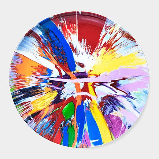 Damien Hirst: Spin Plate | MoMAstore.org