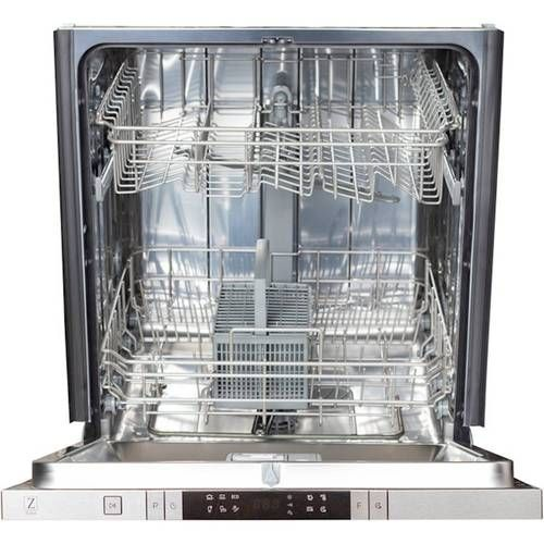 "ZLINE 24"""" Compact Top Control BuiltIn Dishwasher with"
