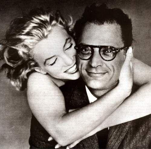 Marilyn Monroe and Arthur Miller, 1957, photo by Richard Avedon