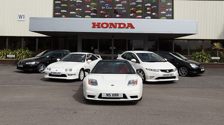 Honda Type R - New and History