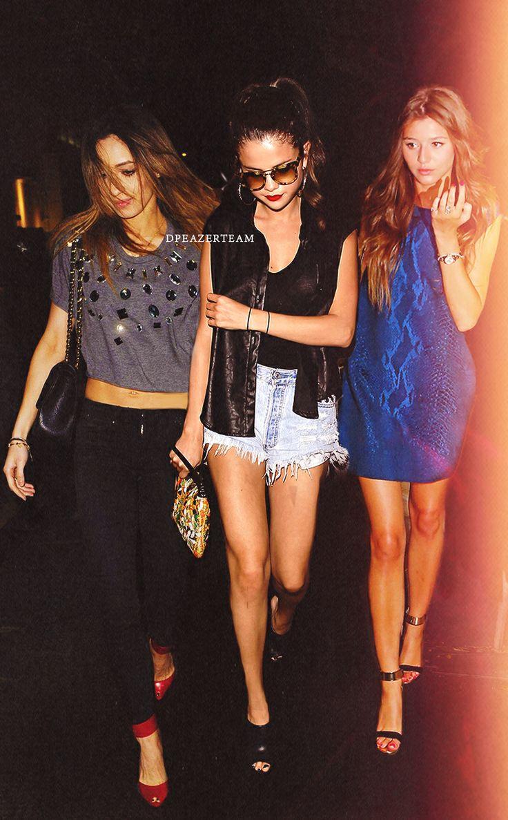 Danielle Peazer, Selena Gomez and Eleanor Calder Manip ...