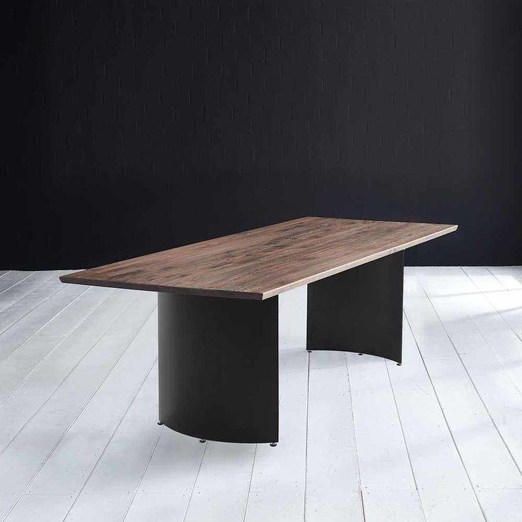 Die besten 25+ Holztisch massiv Ideen auf Pinterest Holztisch - esszimmer massiv modern