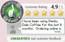 Customer review: I have been using Denby Dale Coffee for the last 6 months.  Ordering online is quick and delivery is always prompt.  Their ...