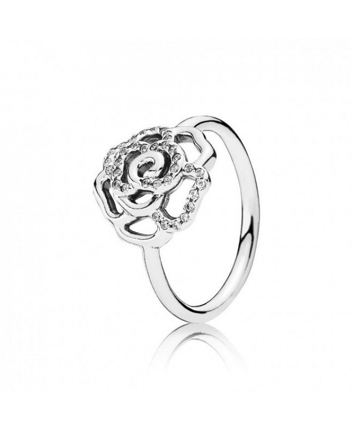 7b2ffa954 Buy Pandora Shimmering Rose Ring With Cubic Zirconia Original USA ...