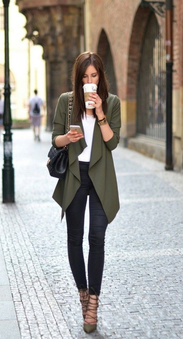 40 elegante Business-Casual-Outfits für Frauen in…
