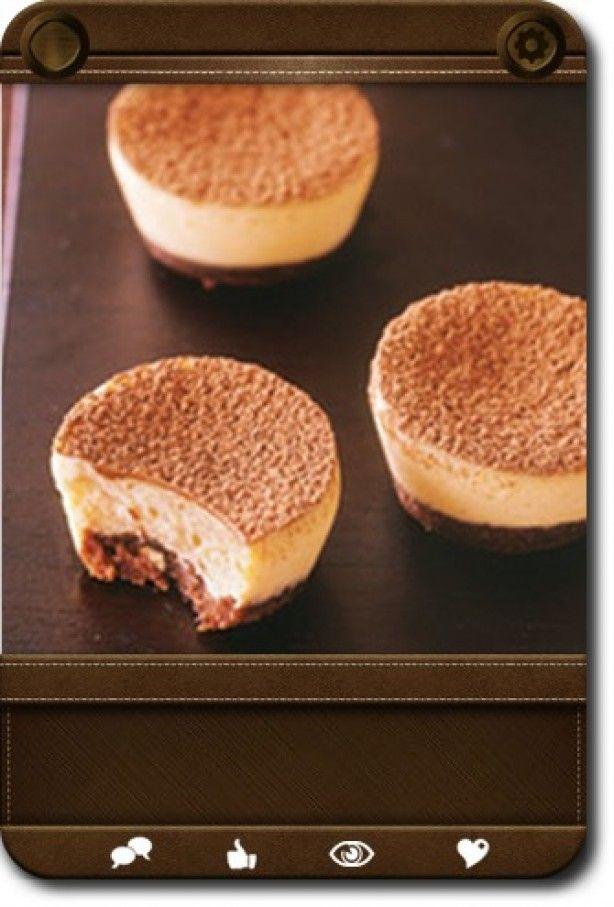 mini baileys cheesecake