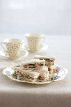Diane's Elegant Ribbon Sandwiches