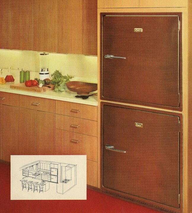 17 Best 60's Retro Kitchens Images On Pinterest