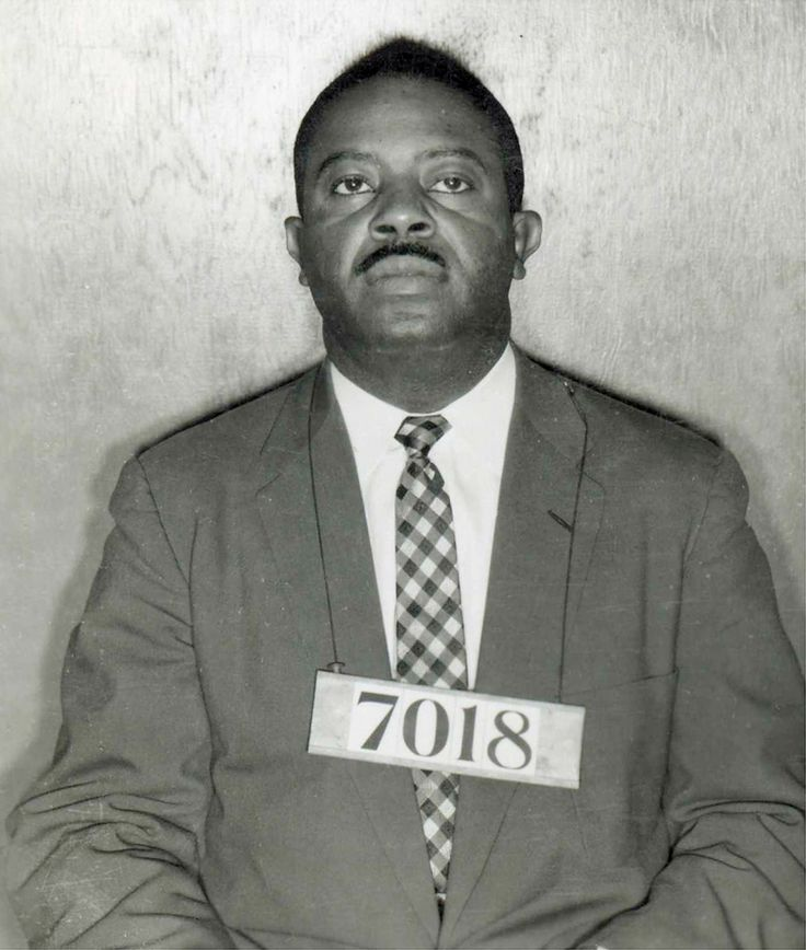 Ralph Abernathy | Ralph Abernathy arrest mug from the Bus Boycott. (Civil Rights and Religion)