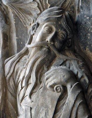 8 Pórtico de San pedro de Moissac. Francia.