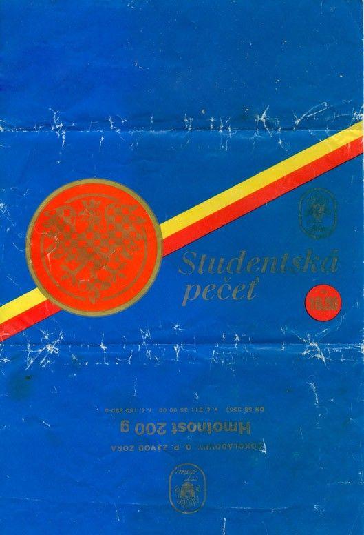 čokoláda Studentská pečeť (1979)