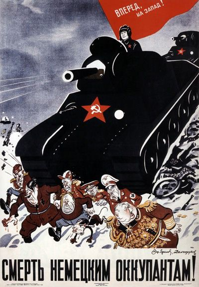 Death for the German occupant ! 1942