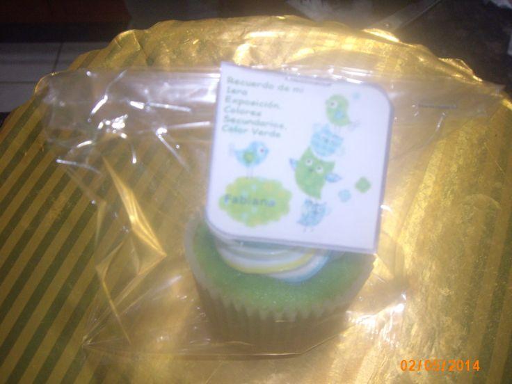 cupcakes de recuerdo