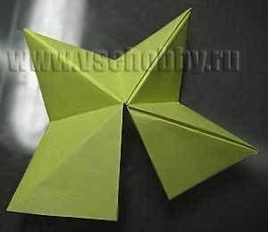 три блока звезды оригами ручной работы