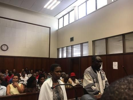 Liziwe Ngwanyise, 32, and Ali Usuf were both charged with two counts of murder, assault with intend to cause grievous bodily harm. Picture: Sne Masuku