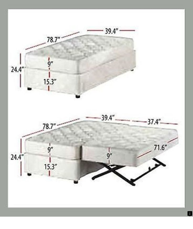 Pin On Trendy Murphy Bed Ideas Twin size bed with mattress included