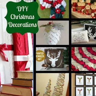Our Secondhand House: DIY Christmas: Decoration Inspiration