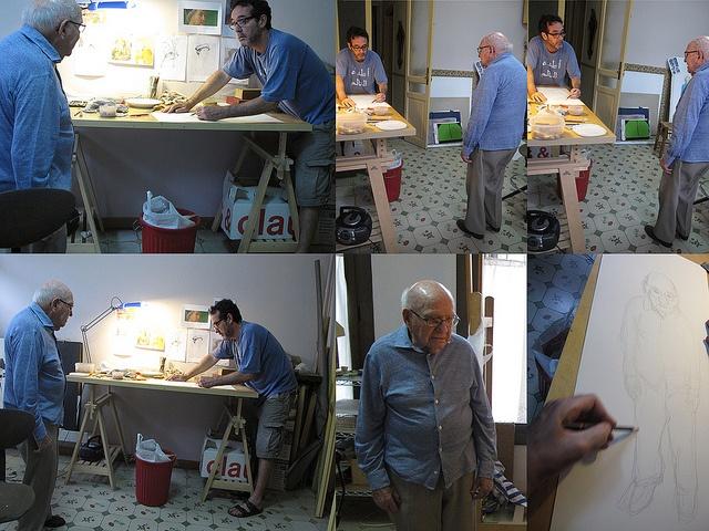 portraying my stepfather by Alex Raventós, via FlickrWorth Reading, Hospice Projects, Book Worth, Alex Raventó, Art Ideas, Artsy Fartsy, 2D Drawing, Photos Shared, Alex O'Loughlin