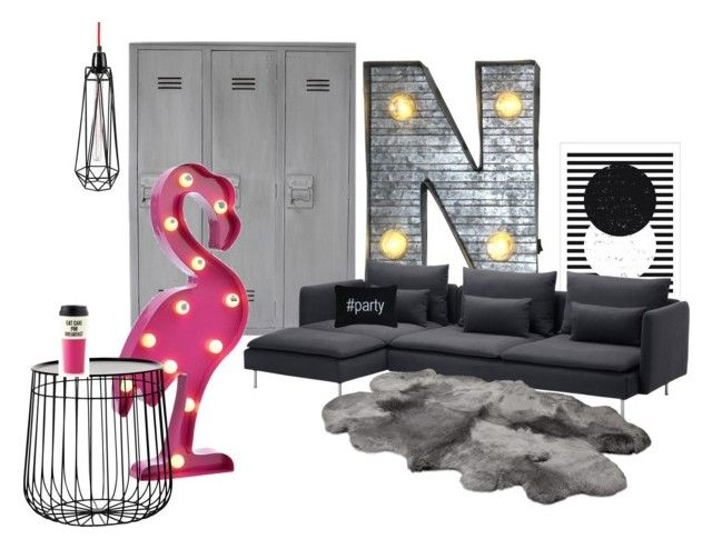 """""""Natascha`s room 2016"""" by inger-malmgaard-petersen on Polyvore featuring interior, interiors, interior design, home, home decor, interior decorating, Crystal Art, Park B. Smith, Pols Potten and Kate Spade"""