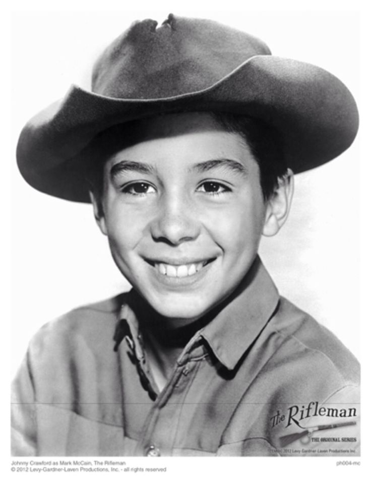 Johnny Crawford from THE RIFLEMAN Television Show